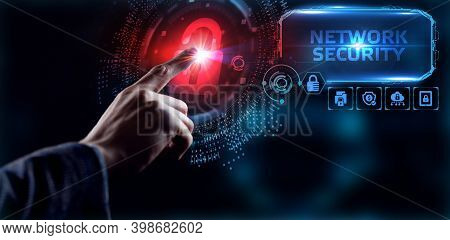 Cyber Security Data Protection Business Technology Privacy Concept. Network Security