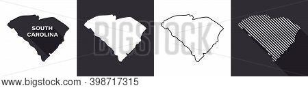State Of South Carolina. Map Of South Carolina. United States Of America South Carolina. State Maps.