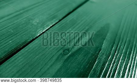Brushed Fired Wooden Pine Board Surface. Background And Texture For Design And Ideas.