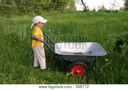 Kid In Work