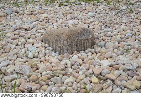 Russia, Novgorod Region, Ilmenskiy Glint, Big And Small Stones