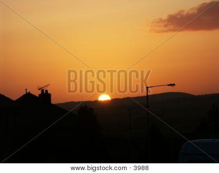 Lancashire Sunset