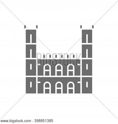 Kyiv, Ukraine - June 1, 2019: Notre Dame Basilica, Montreal Grey Icon.