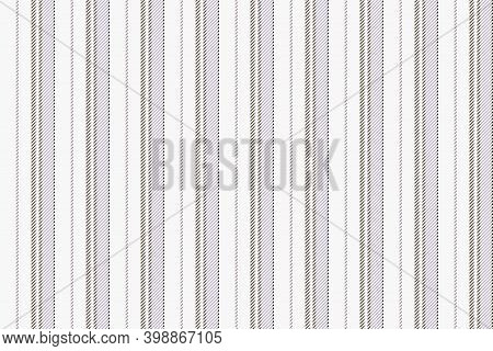 Trendy Striped Wallpaper. Vintage Stripes Vector Pattern Seamless Fabric Texture. Template Stripe Wr