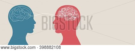Psychological Problem. Mental Disease. Health Of The Mind. Psychologist Or Therapist Or Psychiatrist