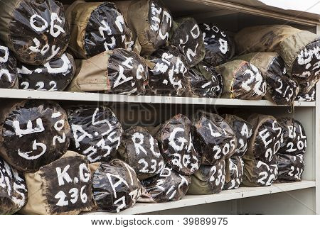 Duffel Bags In Storage
