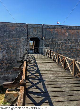 Castillo San Pedro De La Roca Near Santiago De Cuba 1.1.2017
