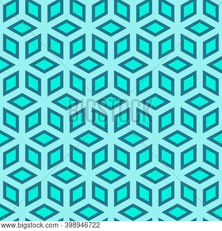 Elegant Modern Multicolor Hexagon Texture For Screen Printing And Textile Industries-seamless Hexago