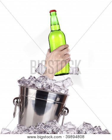 Bottle Of Beer  Breaks The Ice