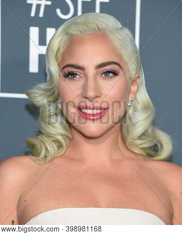 LOS ANGELES - JAN 13:  Lady Gaga {Object} arrives for '24th Annual Critics' Choice Awards on January 13, 2019 0 in Santa Monica, CA