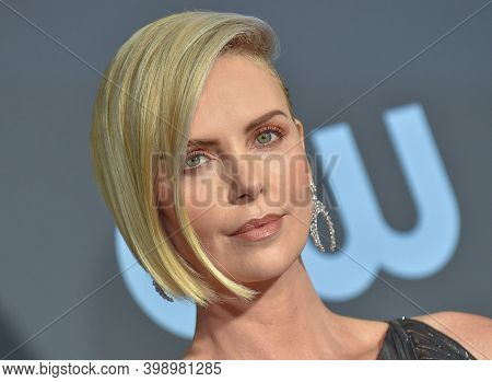 LOS ANGELES - JAN 13:  Charlize Theron {Object} arrives for '24th Annual Critics' Choice Awards on January 13, 2019 0 in Santa Monica, CA