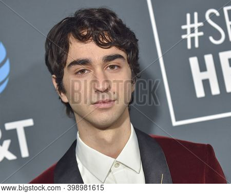 LOS ANGELES - JAN 13:  Alex Wolff  {Object} arrives for '24th Annual Critics' Choice Awards on January 13, 2019 0 in Santa Monica, CA