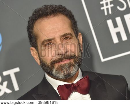 LOS ANGELES - JAN 13:  Tony Shalhoub {Object} arrives for '24th Annual Critics' Choice Awards on January 13, 2019 0 in Santa Monica, CA