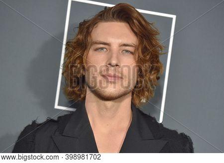 LOS ANGELES - JAN 13:  Cody Fern {Object} arrives for '24th Annual Critics' Choice Awards on January 13, 2019 0 in Santa Monica, CA