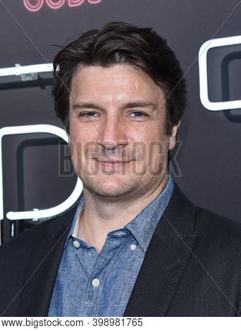 LOS ANGELES - APR 20:  Nathan Fillion arrives for  Starz' 'American Gods' Premiere on April 20, 2017 in Hollywood, CA