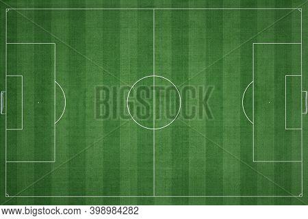 Soccer Field, Green Grass, Football Field Background, Sport Background