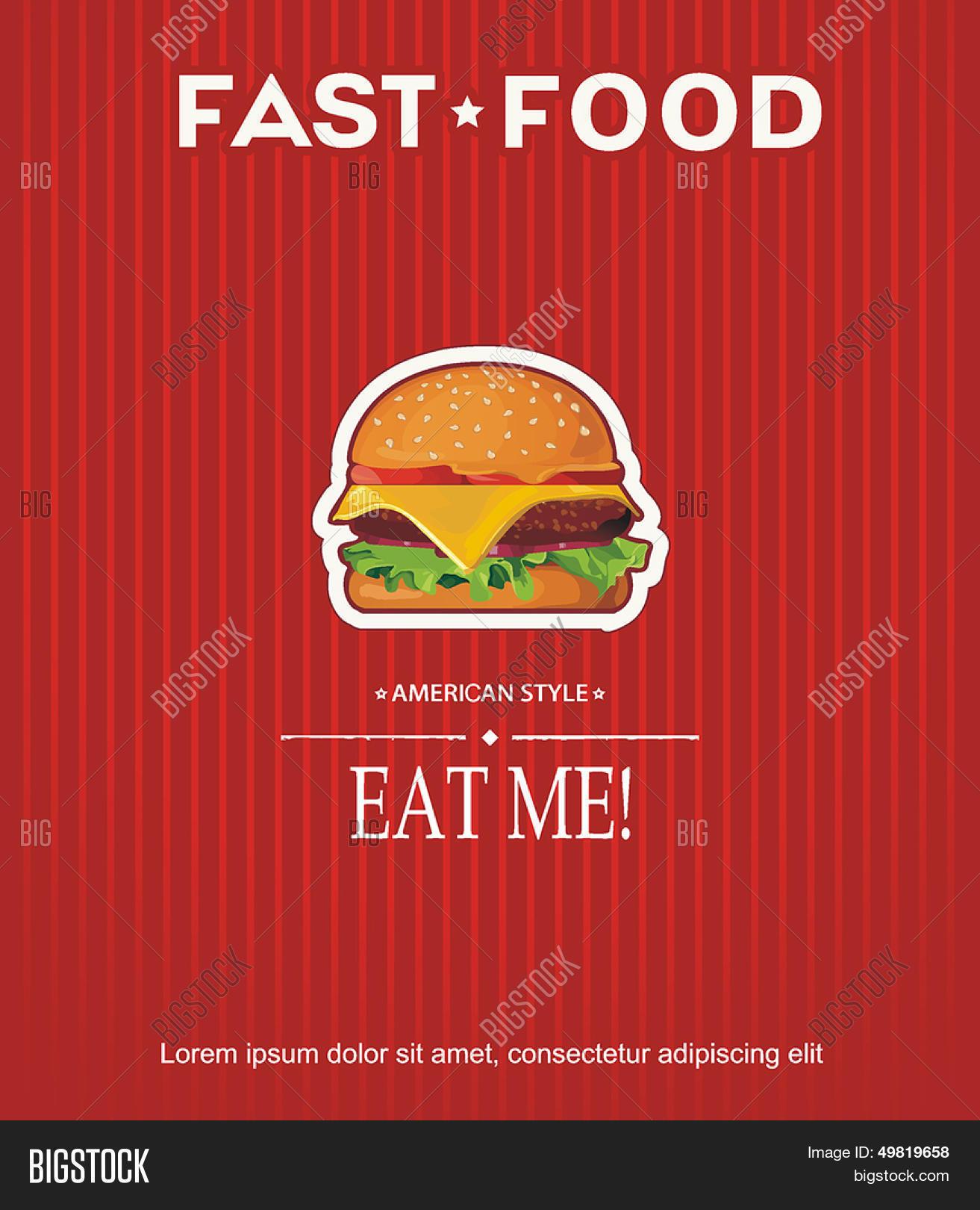 restaurant fast food vector photo free trial bigstock