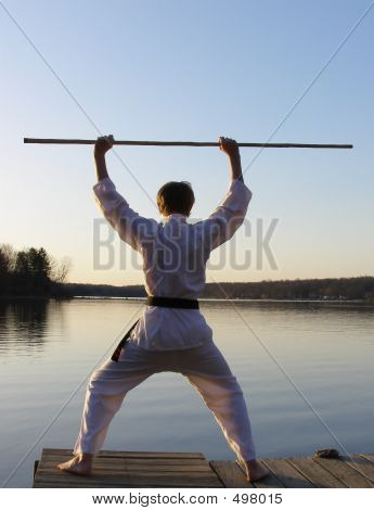 Karate At Dawn