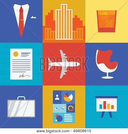 Wealth And Business Illustration