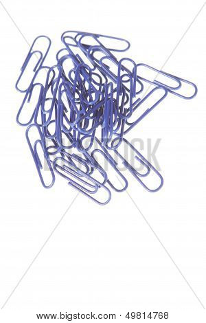 Blue Paperclips