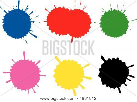 Colour Blots. A Set