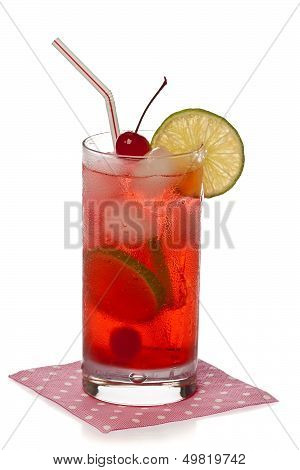 Shirley Temple Cocktail Drink