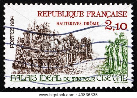 Postage Stamp France 1984 Palais Ideal, By Ferdinand Cheval