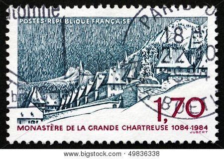 Postage Stamp France 1984 La Grande Chartreuse Monastery
