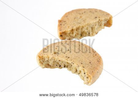 tasty cookie with lavender poster