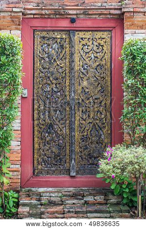 Temple door
