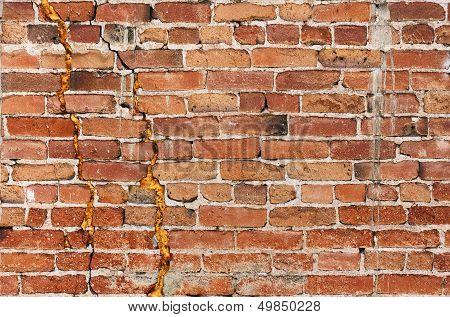 Gritty Brick Wall