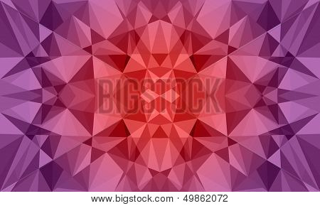 Dark Polygon Abstract Background