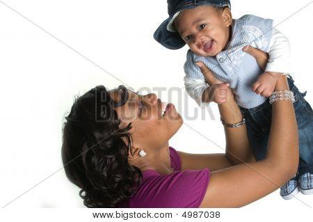 Moeder en Baby Boy
