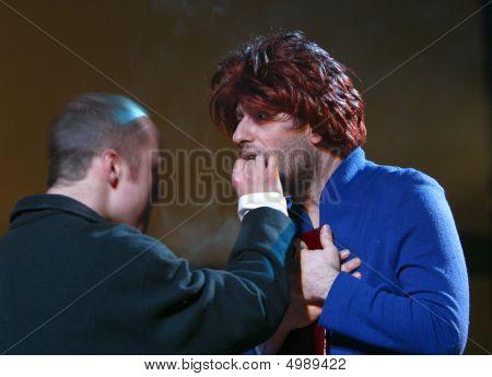 Russian Actors Eugeny Stychkin And Dmitry Goldman