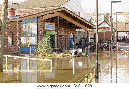 Community Centre in Floods, Basingstoke