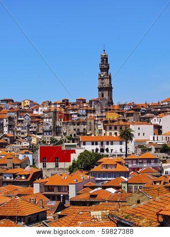 Clerigos Tower In Porto