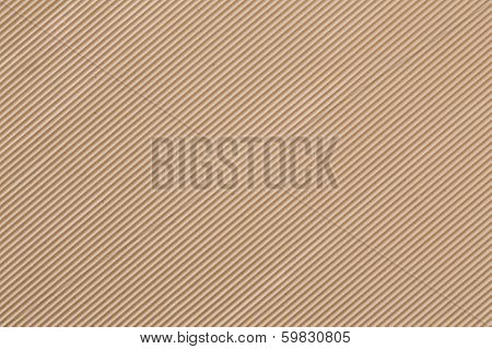 Corrugated fiberboard macro texture
