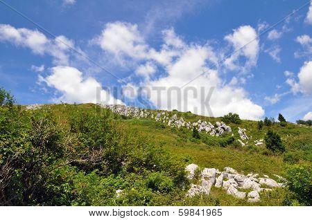 Mountain Kanin, Julian Alps in Soca valley Slovenia, Europe