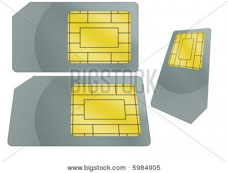 Sim Card Illustration