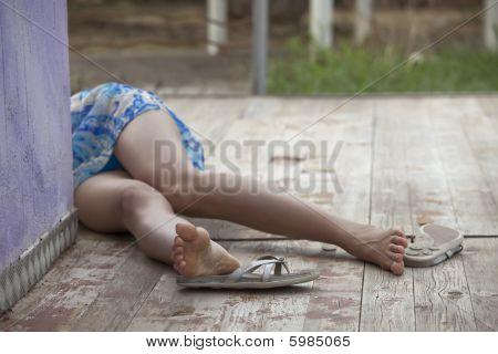 Unconscious Female Victim