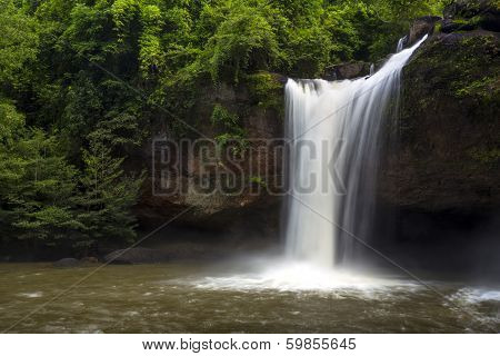 Waterfall Of The National Park