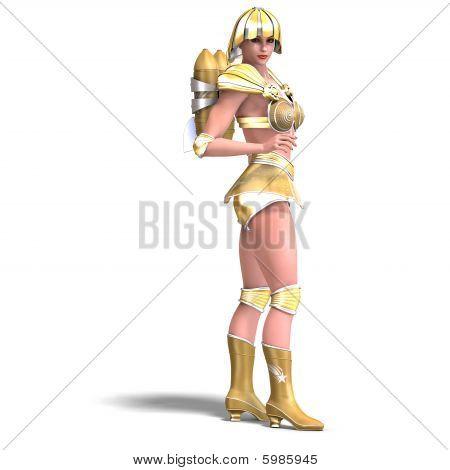 Human hero color Gold
