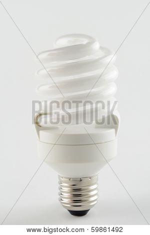 Energy Saving Light Bulb Like A Spiral