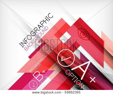 Business presentation stripes abstract background. For infographics, business backgrounds, technology templates, business cards