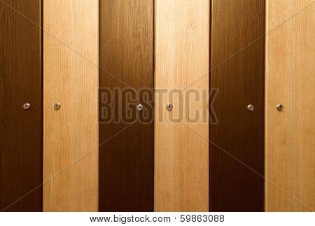 Brown Lockers