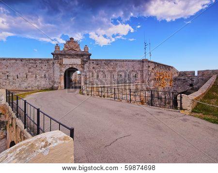 La Mola Fortress In Mahon On Minorca