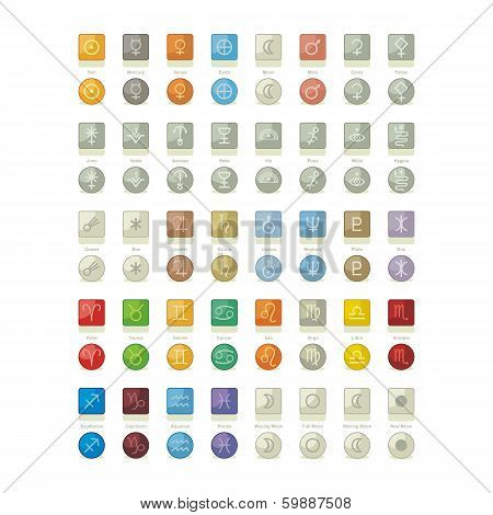 Solar System Icons Pack