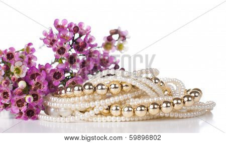 Jewelry And Flowers