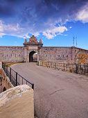 Fortaleza de la Mola in Mao on Menorca Balearic Islands Spain poster