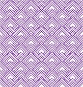 Purple and White Diamonds Tiles Pattern Repeat Background that is seamless and repeats poster